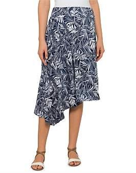 David Jones Leaf Print Skirt