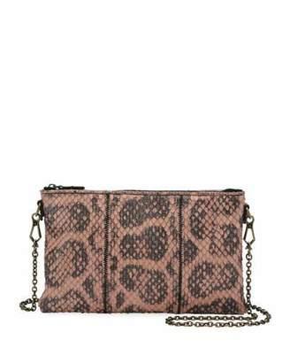 Bottega Veneta Anaconda Zip-Top Crossbody Bag