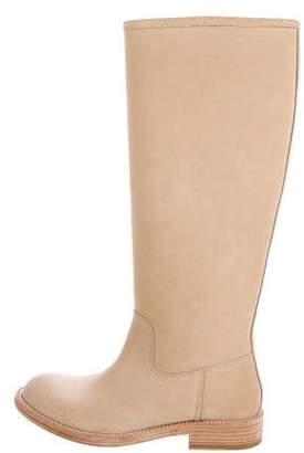 Pedro Garcia Suede Knee-High Boots