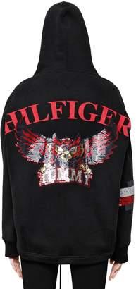 Tommy Hilfiger (トミー ヒルフィガー) - TOMMY HILFIGER COLLECTION OWLS フード付きコットンスウェットシャツ