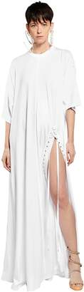 Y/Project Oversized Tunic Cotton Jersey Dress