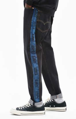 Levi's Hi-Ball Roll Logo Black Side Stripe Jeans