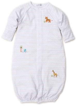 Kissy Kissy Jungle Junket Striped Convertible Sleep Gown, Size Newborn-Small