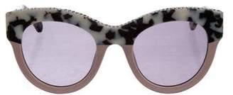 Stella McCartney Embellished Printed Sunglasses