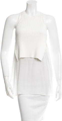 T by Alexander Wang Sleeveless Knit Top w/ Tags