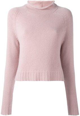 Ralph Lauren funnel neck sweater $1,490 thestylecure.com