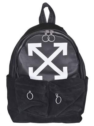 Off-White Off White Logo Print Backpack