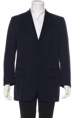 Issey Miyake Wool Three-Button Blazer