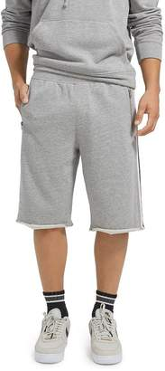 ATM Anthony Thomas Melillo Stripe-Trimmed Sweat Shorts