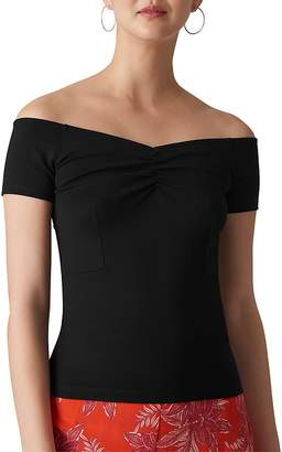 Whistles Off-the-Shoulder Top