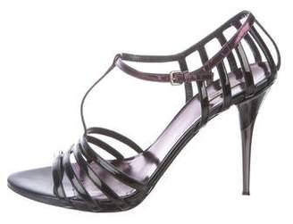 Miu Miu Patent Multistrap Sandals