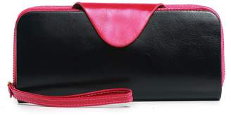 Vicenzo Leather Kamille Distressed Leather Wallet