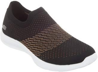 Skechers Flat Knit Slip On Shoes - Premiere Class