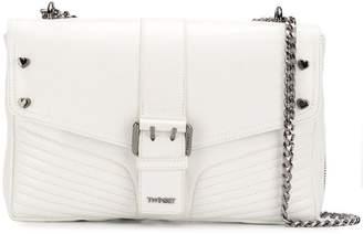 Twin-Set foldover buckle shoulder bag