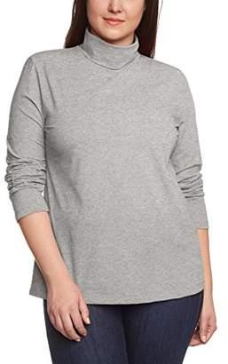 Via Appia Women's Turtleneck Long Sleeve Long-Sleeved Top