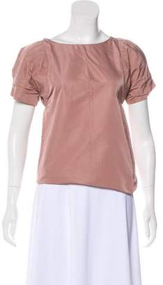 Marni Structured Short Sleeve Blouse