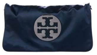 Tory Burch Satin Logo Chain-Link Bag