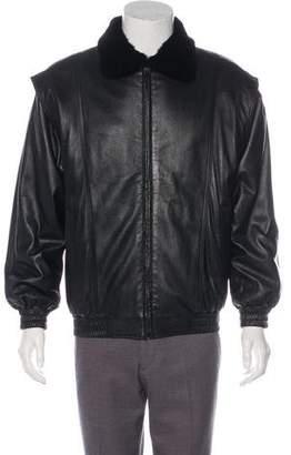 Reversible Mink & Leather Jacket