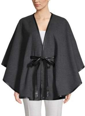 Calvin Klein Wrapped Cape Coat