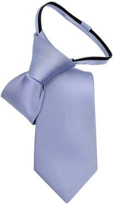 Calvin Klein Little Boys' Vellum Satin Zipper Tie