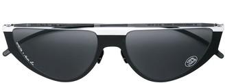 Mykita oval style sunglasses