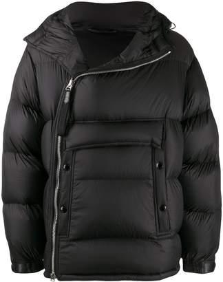 Tom Ford asymmetric puffer jacket