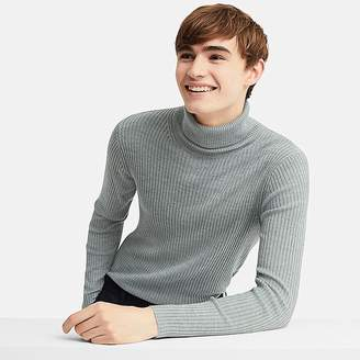 Uniqlo Men's Ribbed Turtleneck Long-sleeve Sweater (online Exclusive)