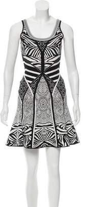 Diane von Furstenberg Sleeveless Fit-and-Flare Dress