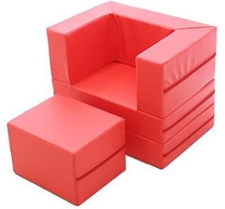 フォルダウェイ Foldaway Comboソファ レッド f21-red
