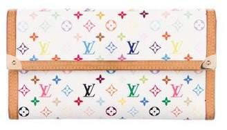 Louis Vuitton Multicolore Porte Tresor International Wallet