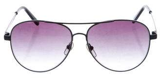 Michael Kors Tinted Aviator Sunglasses