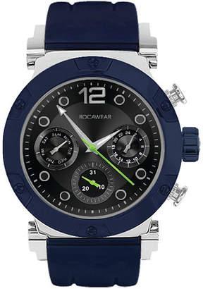 Rocawear Mens Blue Strap Watch-Rm0213s1-104