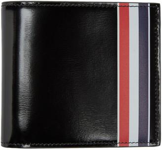Thom Browne Black & Tricolor Wallet $560 thestylecure.com