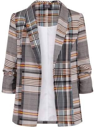 Dorothy Perkins Womens *Girls On Film Check Print Jacket