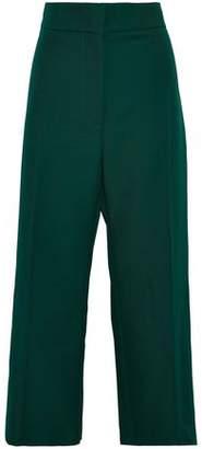 Marni Cropped Twill Wide-Leg Pants