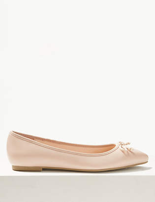 fde589a04 M&S CollectionMarks and Spencer Pointed Toe Ballet Pumps