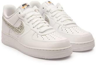 Nike Force 1 '07 LV8 JDI LNTC Leather Sneakers