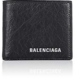 Balenciaga Men's Explorer Arena Leather Billfold - Black