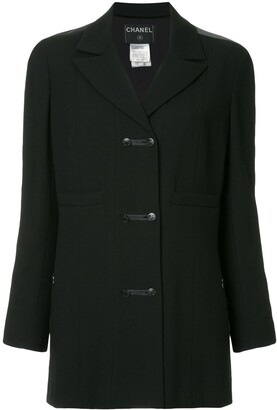 Chanel Pre-Owned long sleeve coat