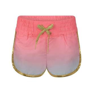 Little Marc Jacobs Little Marc JacobsGirls Iridescent Swim Shorts