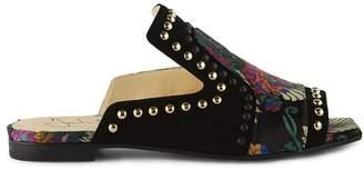 Fabi Mule Suede Sandals