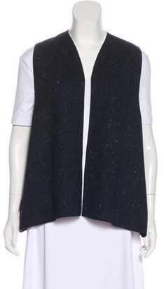 eskandar Speckled Wool Vest