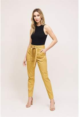 Dynamite Cindy Raw Edge Jeans - FINAL SALE Mustard Gold