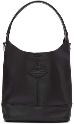 Rag & Bone Black Mini Camden Shopper Tote