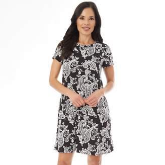 Apt. 9 Women's Printed Swing Dress