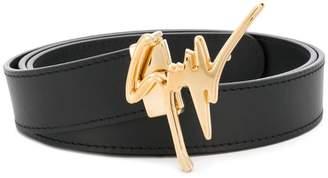 Giuseppe Zanotti Design giuseppe logo belt