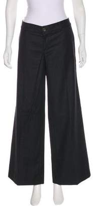 Rag & Bone Wool Wide-Leg Pants