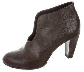 REINHARD PLANK Leather Ankle Boots