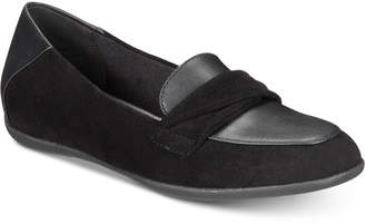 Bare Traps Baretraps Juliya Memory Foam Hidden-Wedge Smoking Flats