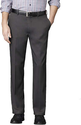 Van Heusen Men's Straight Leg No-Iron Flat-Front Dress Pants